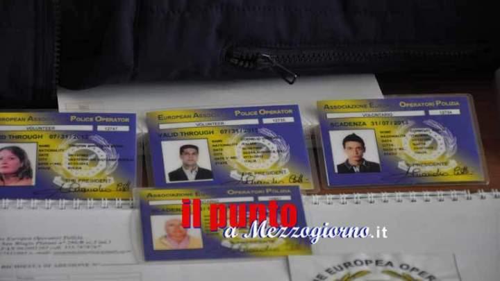 Perquisizioni e sequestri nella sede formiana dell'Associazione nazionale operatori di polizia, denunciato il presidente Bardellino