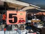 Lavoro a nero al mercato di Cassino, multe per 3600 euro