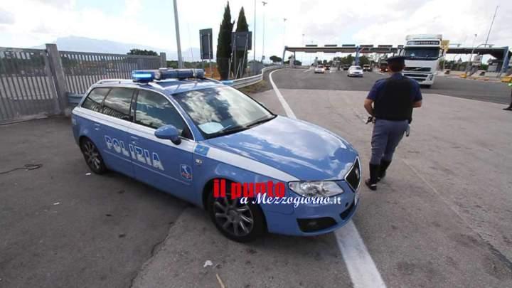 Cassino, inseguimento e arresto di due ricettatori sull'A1