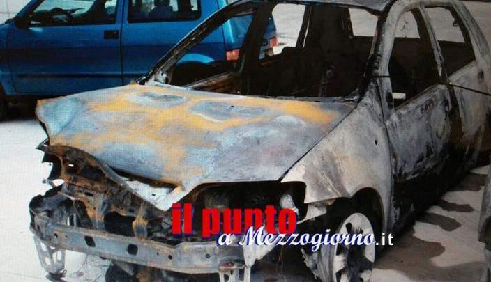 Auto in fiamme a Caira, la polizia di Cassino indaga sull'incendio doloso