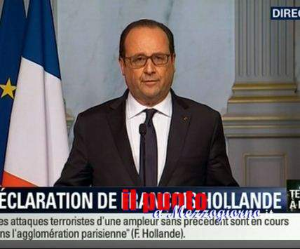 Parigi Sotto attacco, Hollande annuncia lo Stato di Assedio e chiude le frontiere
