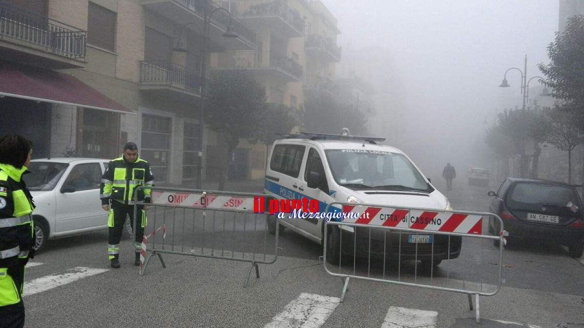 Emergenza inquinamento, a Cassino via al blocco totale del traffico