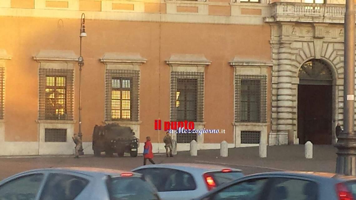 Roma, arrivano le sentinelle antiterrorismo
