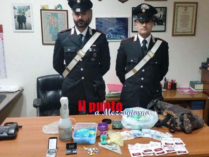 Arrestato spacciatore a Veroli, aveva 50 grammi di cocaina divisa in dosi