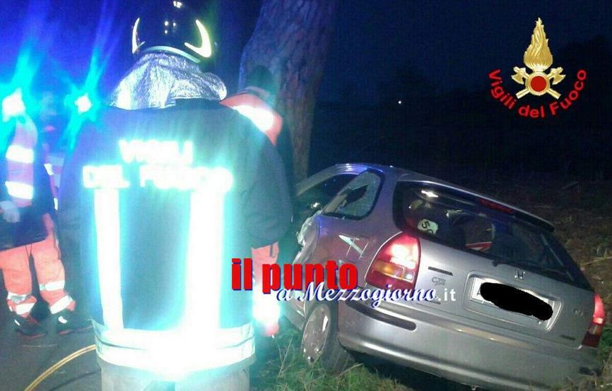 Incidente mortale ad Aprilia, 69enne si scianta contro un albero