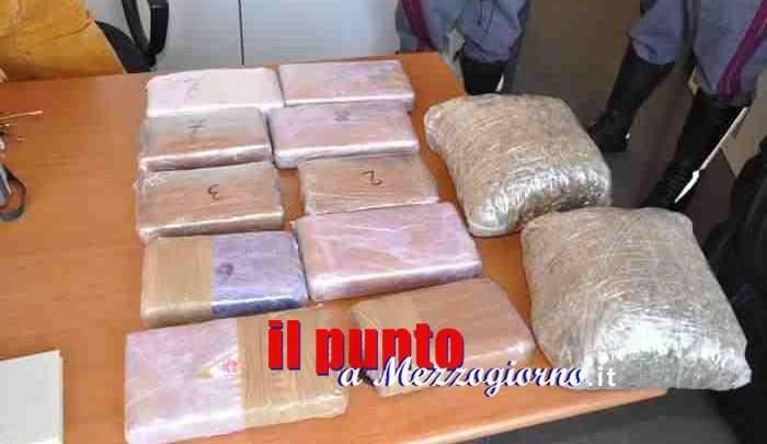 Fiume di droga dall'Olanda, nessun corriere è ciociaro ma tre indagati sono in carcere a Frosinone