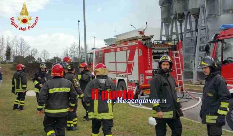 vigili del fuoco aprilia