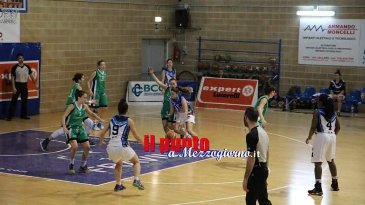 Basket Serie B femminile: Contro Bull BK Latina sconfitta al fotofinish per la NB Sora 2000