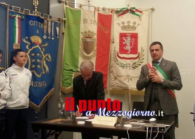 Ad Amsterdam il sindaco Petrarcone presenta Cassino alla stampa e ai tour operator