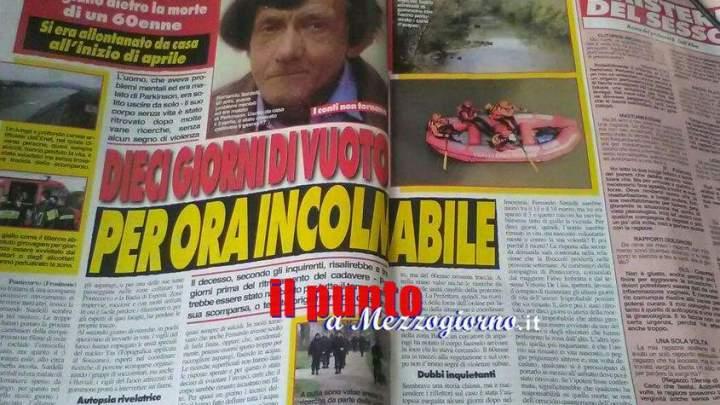 Ancora mistero sulla morte di Fernando Sardelli di Pontecorvo
