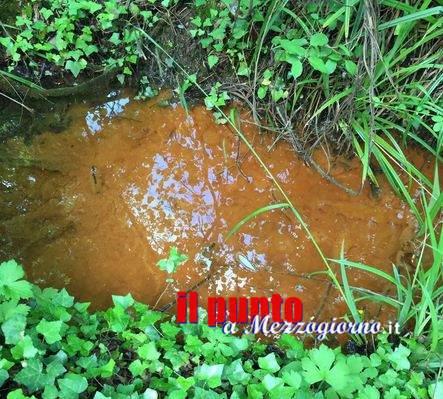 """Cassino e il mistero delle """"sorgenti"""" di acqua rossa"""