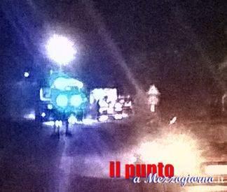 Incidente stradale sulla Ceccano Frosinone, due feriti