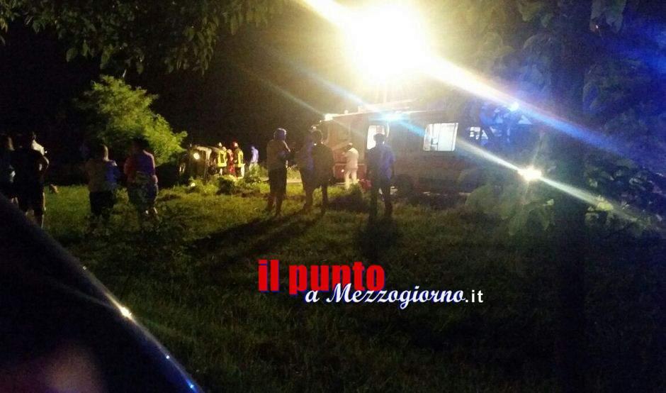 Incidente stradale ad Isola Liri, giovane di Broccostella gravemente ferito