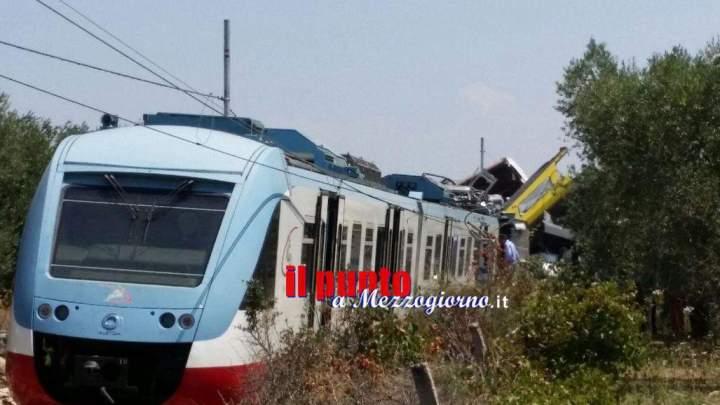 Disastro ferroviario in Puglia, la morte sulle rotaie della Ferrovia del Nord Barese