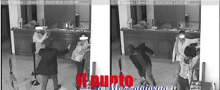 Cassino – Rapinano la banca Popolare di Novara, 56enne arrestato – si cerca il complice