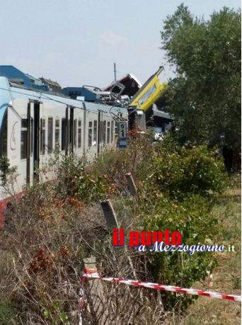 tragedia ferroviaria puglia