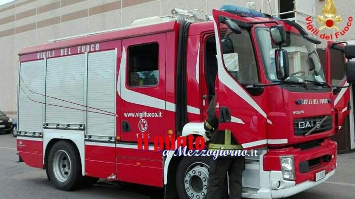 Provincia di Frosinone: Emergenza incendi, i vigili del fuoco impegnati su più fronti
