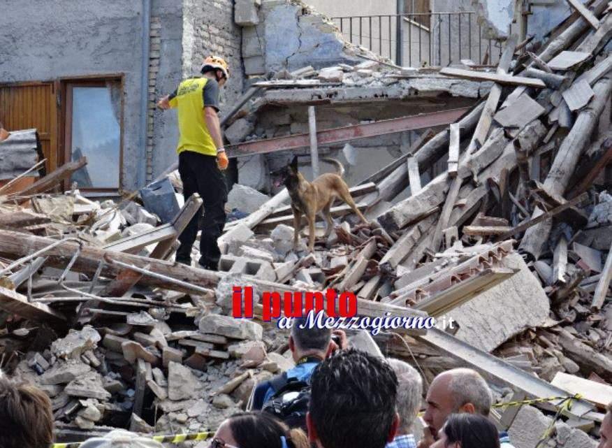 Terremoto, nelle prossime settimane dossier per richiesta del Fondo di Solidarietà dell'Unione Europea