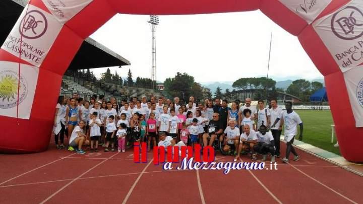 """Grande successo per la quarta edizione del """"Mennea Day"""" targata Cus Cassino"""