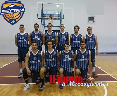 Basket: NB Sora 2000 sconfitta a Roma dal San Paolo Ostiense