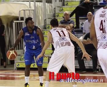 Basket: 45′ bastano al Ferentino per aver ragione dell'Eurobasket Roma