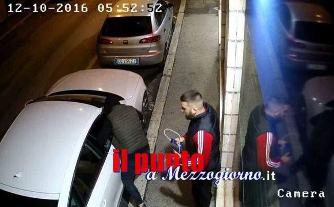 Ladri di auto a Cassino, in un video vi mostriamo come fanno