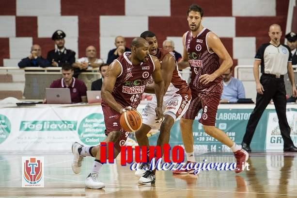 Basket: Ferentino, cade in terra siciliana, sconfitta da Trapani