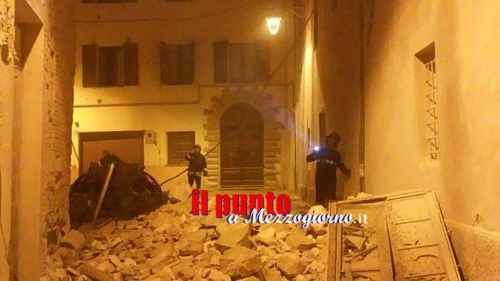 Terremoto, vigili del fuoco partono da Frosinone per le zone colpite dal sisma