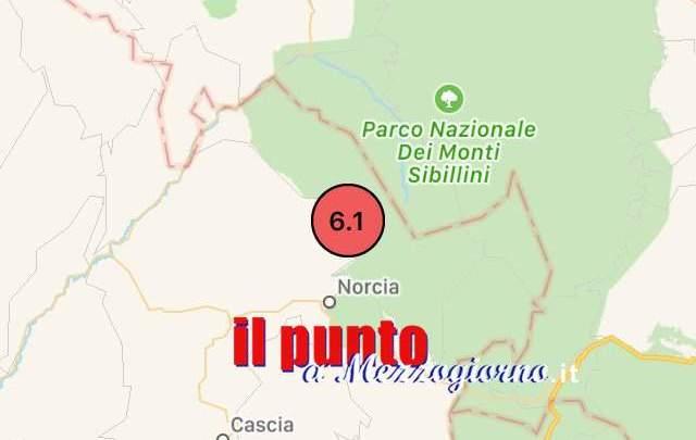 Terremoto, la magnitudo è 6.5
