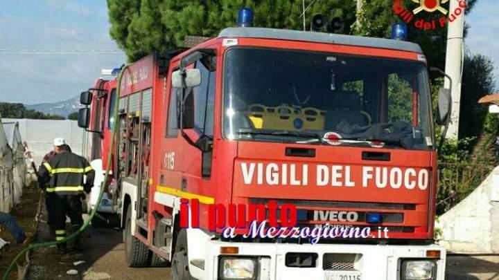 Fuga di gas e incendio a Fondi, persona ustionata