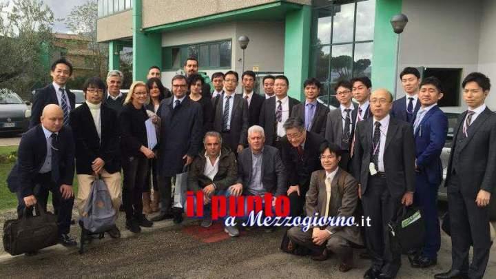 Tecnici giapponesi a Frosinone per studiare il ciclo dei rifiuti