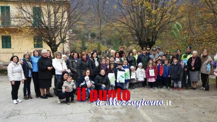La Giornata Nazionale degli Alberi celebrata dai giovanissimi di Filettino