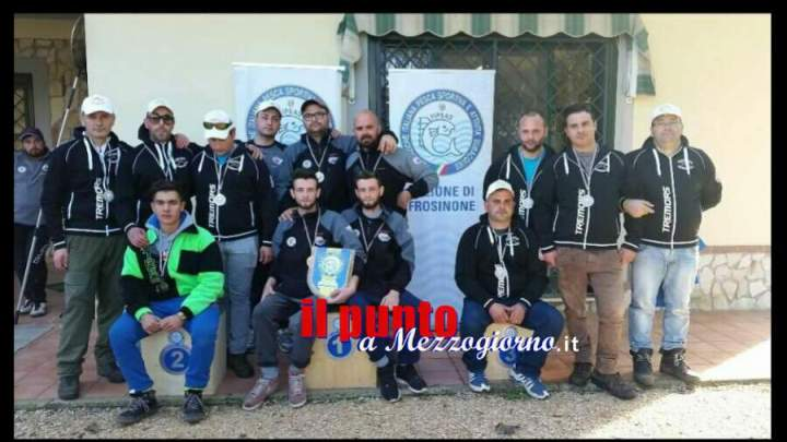 Campionato provinciale di Frosinone trota lago 2016, ottimo risultato della Trabucco