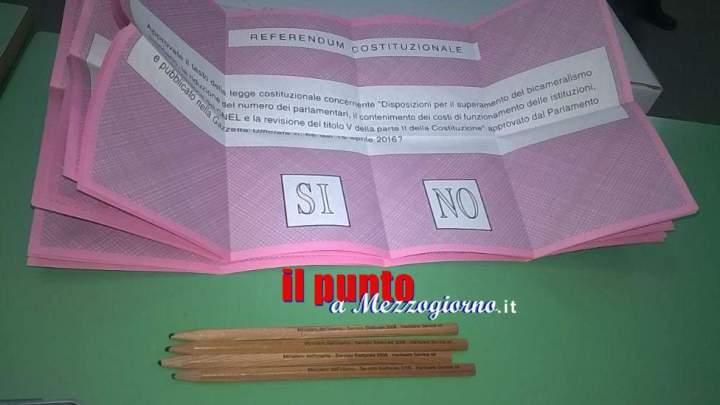 Referendum costituzionale: A Cassino stravince il No con 13.043 voti. Il Sì a 5965