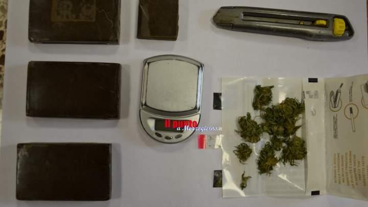 Ferentino- Detenzione ai fini di spaccio di sostanze stupefacenti.In manette un 59enne