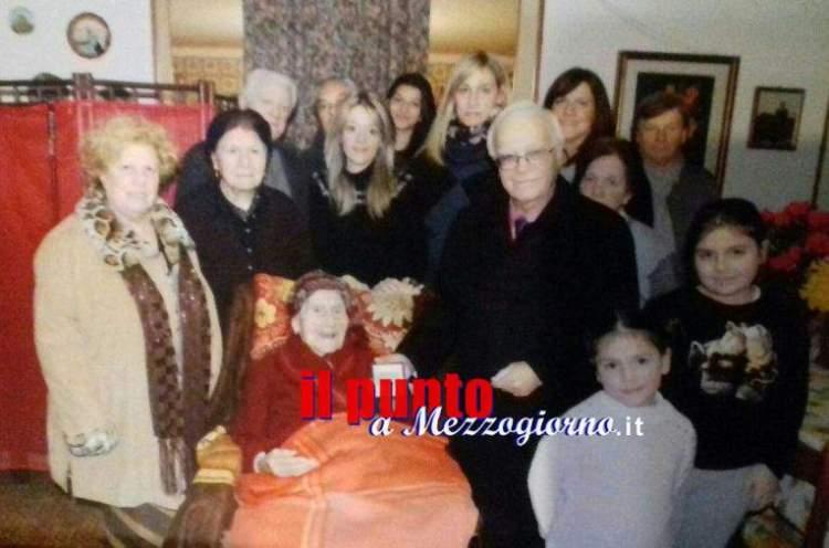 centenaria marietta nonna ciociaria