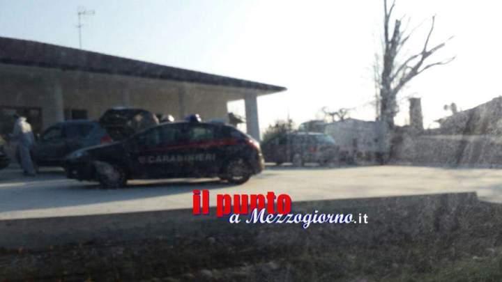 Bancomat sradicato, i malviventi intercettati a Sant'Angelo scappano a piedi