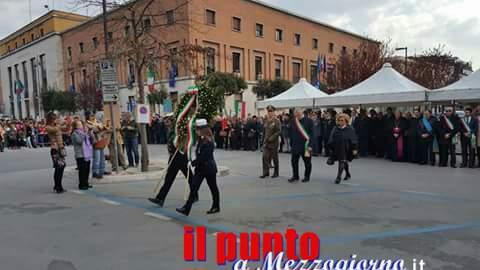 Settantatré anni fa la distruzione di Cassino, cerimonia in piazza De Gasperi