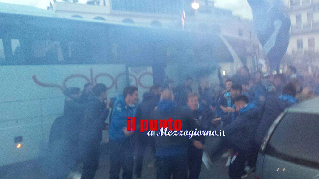 Calcio, il Cassino torna in serie D: festa in città – FOTO E VIDEO