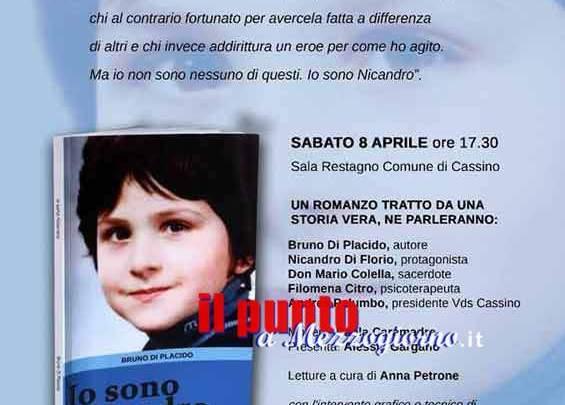 """Cassino – Oggi la presentazione del libro """"Io sono Nicandro"""""""