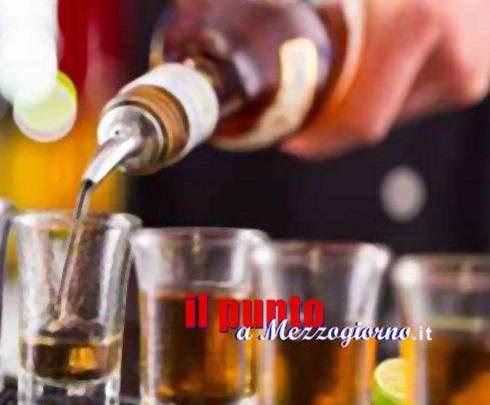 Movida cassinate, alcolici a minori e multe per migliaia di euro