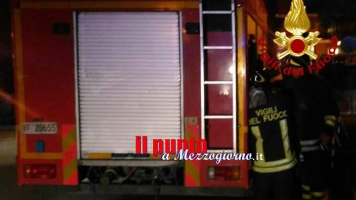 Fumo antifurto fa scattare allarme antincendio in negozio a Cassino