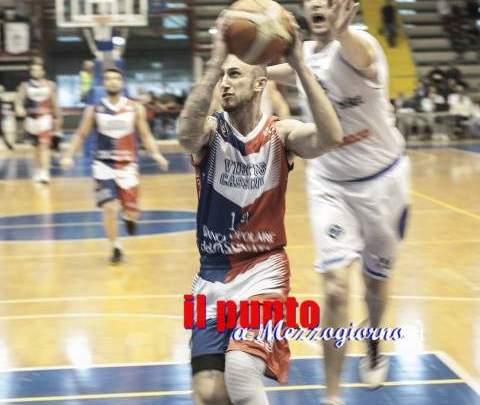 Semifinale playoff serie B, gara 1: La Virtus Cassino si porta 1-0 nella serie vs Napoli. 72 – 69