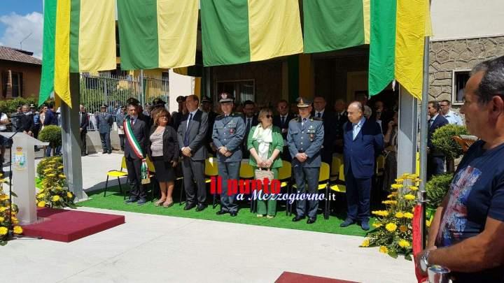 Frosinone, Guardia di Finanza- Inaugurata la nuova caserma della Brigata di Arce