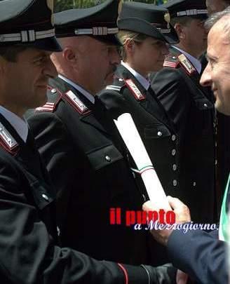 Isernia: Premiati per le attività svolte sul territorio i Comandanti delle Stazioni Carabinieri di Isernia e Capracotta