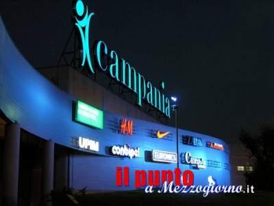 Furto al centro commerciale Campania per 800€ complessivi