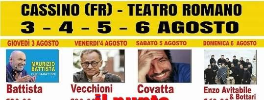 Satira, Musica e Solidarietà. Il messaggio che parte dal Teatro Romano