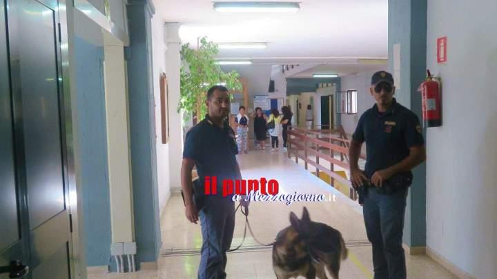 In classe con la droga il primo giorno di scuola, sequestrata marijuana a Cassino