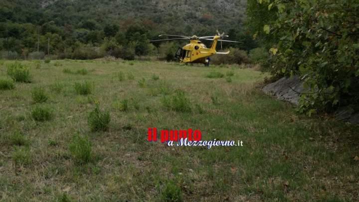 Travolto dalla motozappa, 61enne gravemente ferito a Esperia