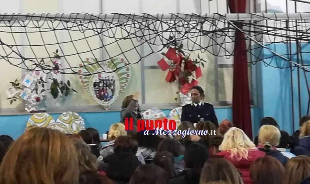 Monte San Giovanni Campano: Incontro all'istituto comprensivo. Sicurezza in rete con la Polizia di Stato